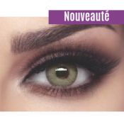 Lentilles de Contact Bella Elite Grey Olive - 3 Mois