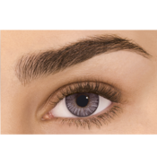 Lentilles de Contact Grises Freshlook Colorblends Grey - 1 Mois
