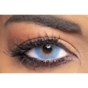 Lentilles de Contact Bleues Obsession Paris Perfection Midnight - 3 Mois