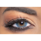 Lentilles de Contact Bleues Obsession Paris Perfection Cerulean - 3 Mois