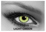 Lentilles de contact Soleko Queen's Trilogy Light Green - 1 mois