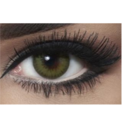 Lentilles de contact Bella Diamonds Caribbean Green - 1 Mois