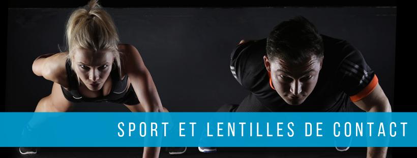 sport et lentilles de contact
